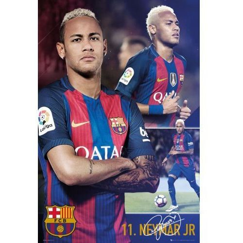 FC Barcelona Neymar Kolaż - plakat (5028486379507)
