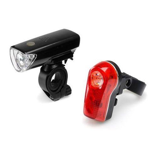 MacTronic zestaw lamp rowerowych FN3-1L