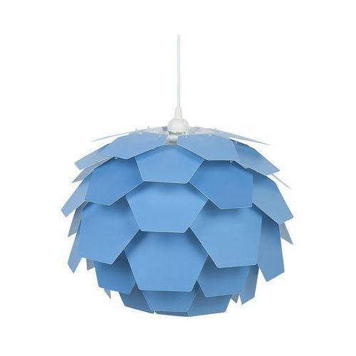 Beliani Lampa wisząca niebieska segre mała (4260580926855)