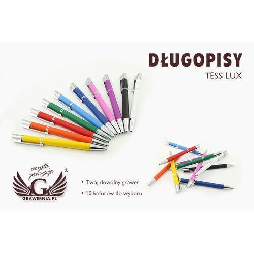 Długopisy metalowe TESS LUX + dowolny grawer laserem