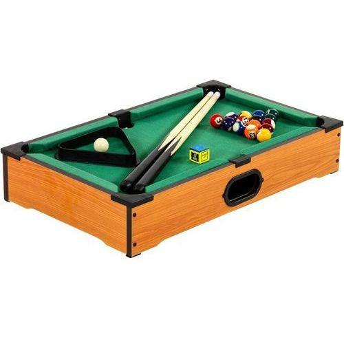Makstor.pl Mini stół bilardowy pool bilard + akcesoria - buk, kategoria: bilard i snooker