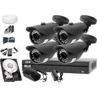 Zestaw do monitoringu: Rejestrator BCS-XVR0801, 4x Kamera LV-AL20HT, 1TB, akcesoria, 25057