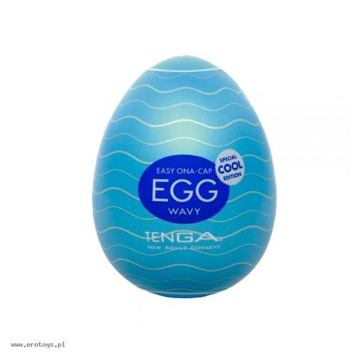 Tenga Egg - Wavy Cool (4560220554791)