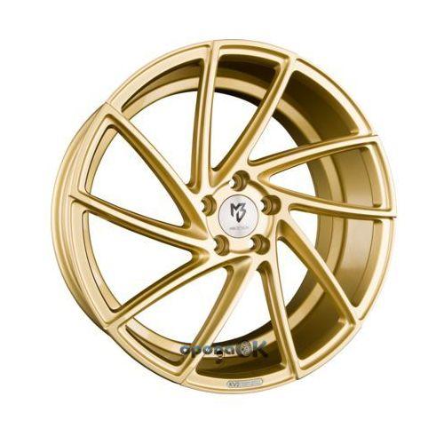 kv2 gold glänzend - gold glänzend lackiert einteilig 8.50 x 20 et 42 marki Mb-design