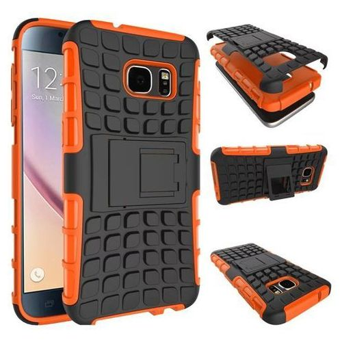 Perfect Armor Pomarańczowy | Pancerna obudowa etui dla Samsung Galaxy S6 - Pomarańczowy