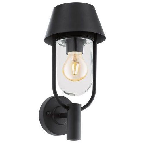Eglo Kinkiet fakunda 96236 lampa ścienna 1x60w e27 czarny