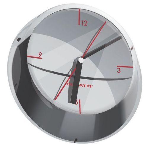 - glamour zegar ścienny, chromowany marki Bugatti