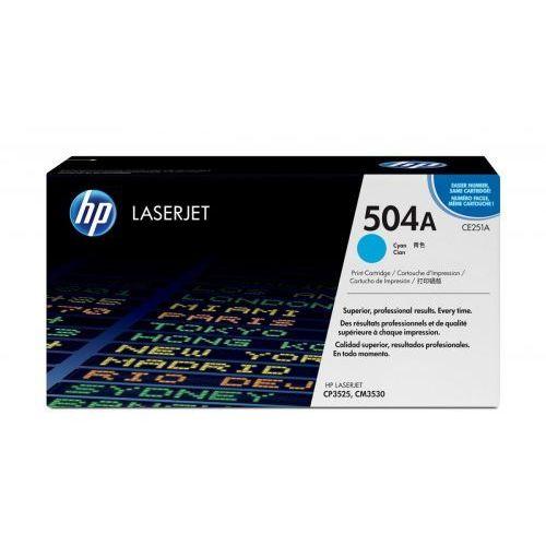 HP Inc. Toner CP3525 Błękitny (Cyjan) 7k CP3525/CM3530 CE251A