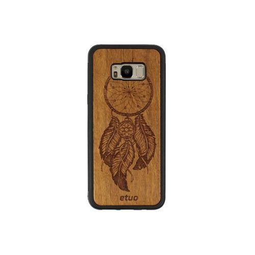Samsung galaxy s8 plus - etui na telefon wood case - łapacz snów - imbuia marki Etuo wood case