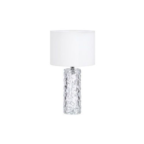 Nocna LAMPKA stojąca MADAME 107189 Markslojd abażurowa LAMPA stołowa biała (7330024573260)