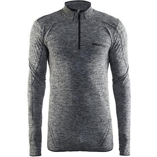 Craft koszulka męska active comfort zip ls czarna xl