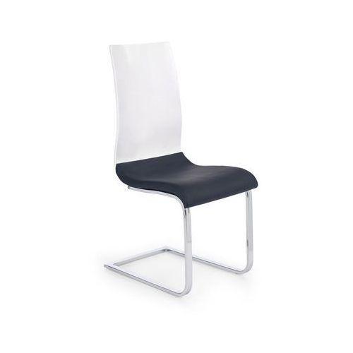 Halmar Krzesło  k198 - biało-czarne