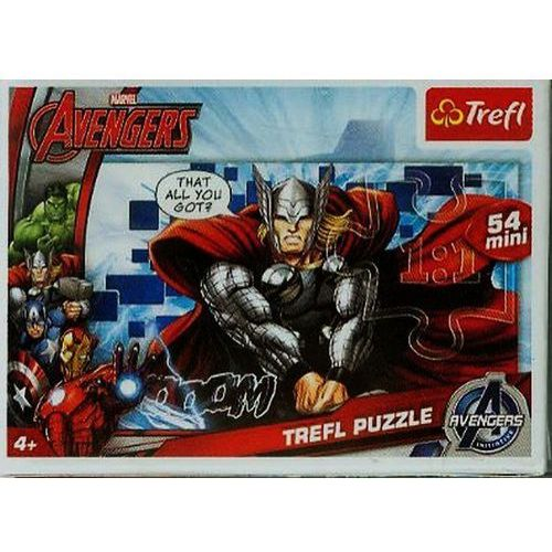Puzzle 54 mini drużyna avengers 1 marki Trefl