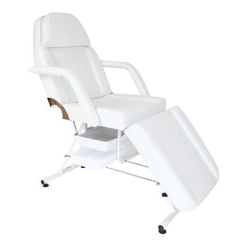 Fotel kosmetyczny manualny basic z kuwetami marki Cosnet