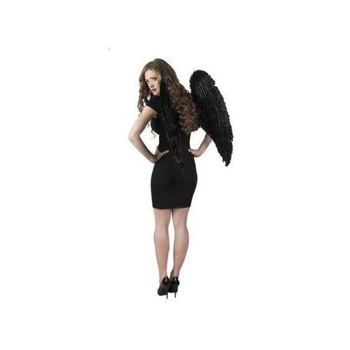 Skrzydła Anioła czarne 87 x 72 cm - przebrania dla dorosłych