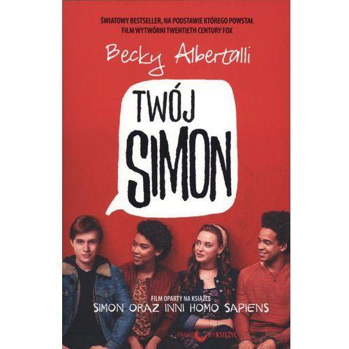 TWÓJ SIMON SIMON ORAZ INNI HOMO SAPIENS OKŁADKA FILMOWA, Becky Albertalli