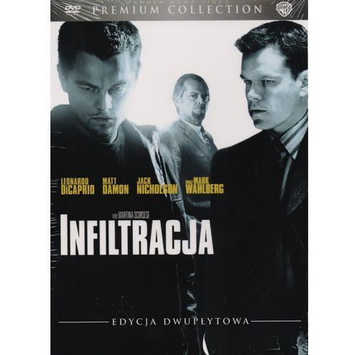 Infiltracja (DVD), Premium Collection - Martin Scorsese DARMOWA DOSTAWA KIOSK RUCHU (7321996132883)