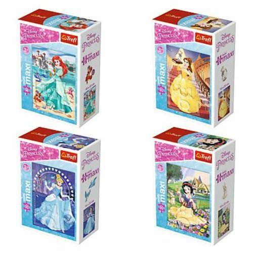 Puzzle TREFL Mini Maxi W świecie księżniczek 20 elementów (5900511560046)