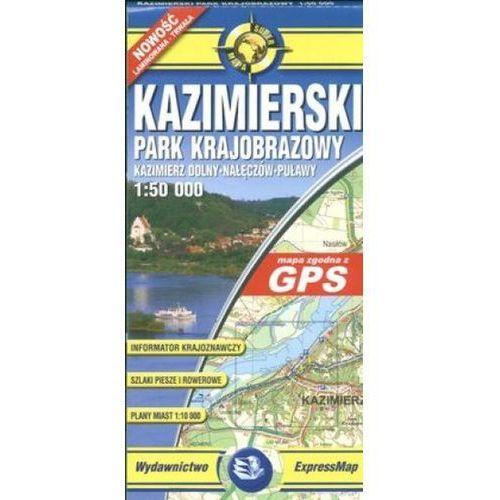 Kazimierski Park Krajobrazowy mapa 1:50 000 ExpressMap, praca zbiorowa. Tanie oferty ze sklepów i opinie.