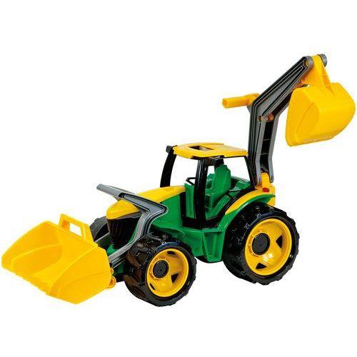 traktor spychacz koparka zielona 5-02080 marki Lena
