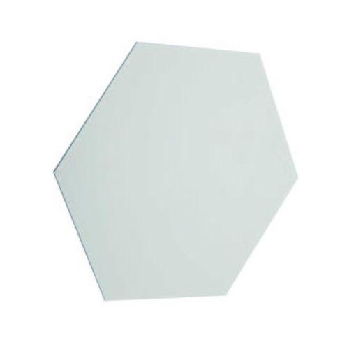 Kinkiet LAMPA ścienna SHEET 20030-WH Zumaline geometryczna OPRAWA minimalistyczna heksagon biały