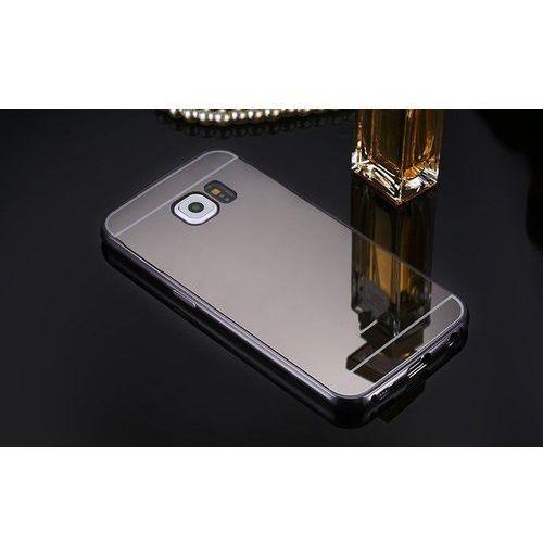 metal case szary | etui dla samsung galaxy s6 - szary, marki Mirror bumper