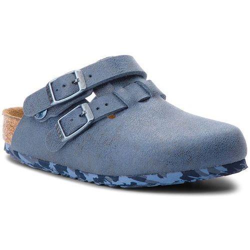 Klapki BIRKENSTOCK - Arizona Kids 1008341 Sandwashed Blue, kolor niebieski