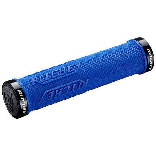Ritchey wcs true grip x chwyt do kierownicy lock-on niebieski 2018 chwyty kierownicy (0796941381321)
