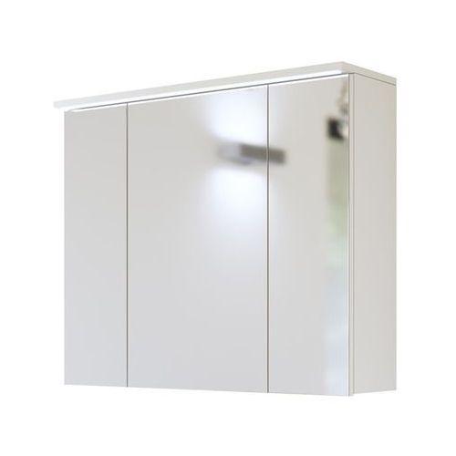 Comad Szafka łazienkowa z lustrem led 80 cm galaxy white