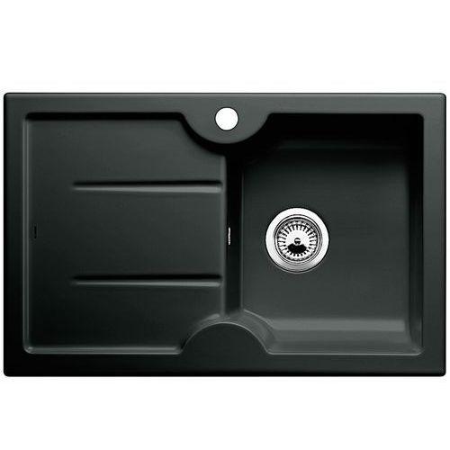 Idessa 45S Blanco zlewozmywak ceramiczny bez akcesoriów komora prawa 500x780 czarny - 514500, kolor czarny