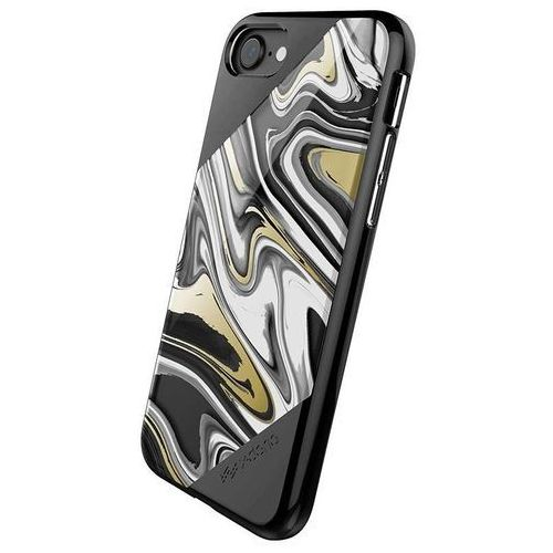 X-Doria Revel Lux - Etui iPhone 7 (Black Swirl) (6950941455824)