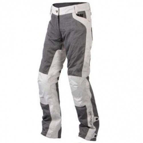 meshtec damskie tekstylne spodnie motocyklowe szare a0422, Adrenaline