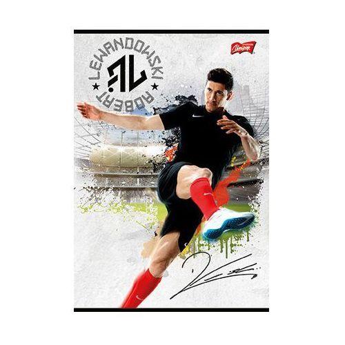 Zeszyt A5/ 16 kartek w kratkę Lewandowski