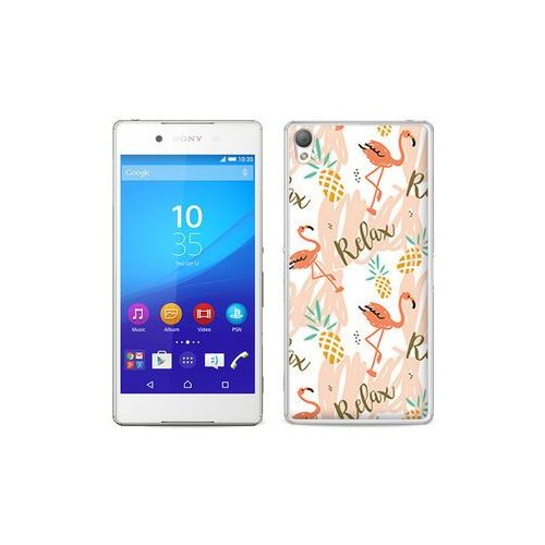 etuo Fantastic Case - Sony Xperia Z3+ - etui na telefon Fantastic Case - różowe flamingi
