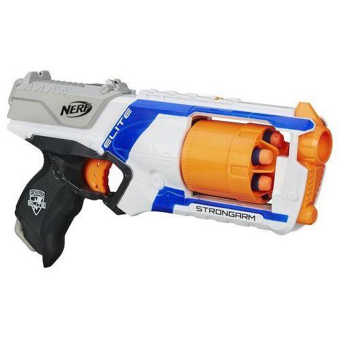 HASBRO Nerf Wyrzutnia Strongarm Elite z kategorii Pozostałe zabawki