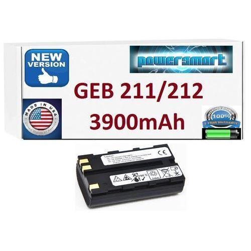 Bateria leica geb211 geb212 geb221 geb90 3900mah marki Powersmart