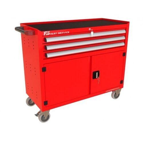 Wózek warsztatowy TRUCK z 3 szufladami i drzwiami PT-230, PT-230