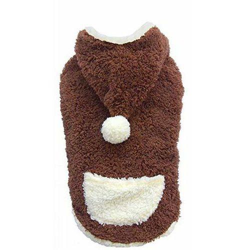bluza z kapturem, brązowa, xxs 13-15 cm/26-28 cm - darmowa dostawa od 95 zł! marki Doggy dolly