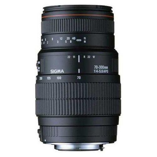 Obiektyw SIGMA 70-300/4-5.6 APO DG Macro (Nikon) + Zamów z DOSTAWĄ JUTRO! + DARMOWY TRANSPORT!