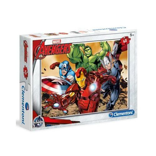 60 el. avengers wyprodukowany przez Clementoni
