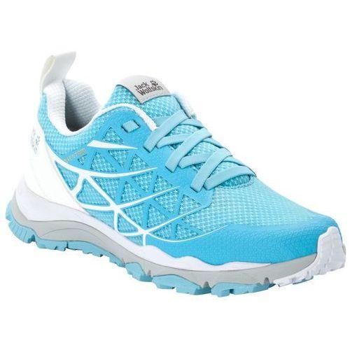 Buty sportowe damskie trail blaze vent low w light blue / white - 4,5 marki Jack wolfskin