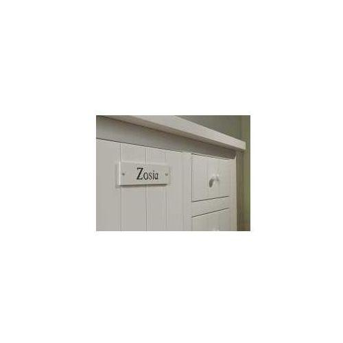Tabliczka dekoracyjna biała - ZADZWOŃ I ZŁAP RABAT DO -10%! TELEFON: 601-892-200, Pin T dekor B