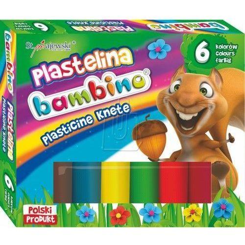 Plastelina St.Majewski Bambino 6kol. 01727, pl 1210004
