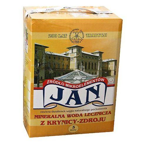 Uzdrowisko krynica zdrój Jan 5l woda lecznicza (pakiet) 6 sztuk