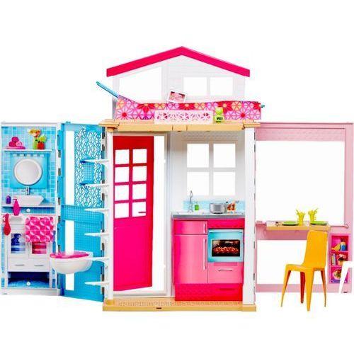 rozkładany piętrowy domek barbie dvv47 marki Mattel