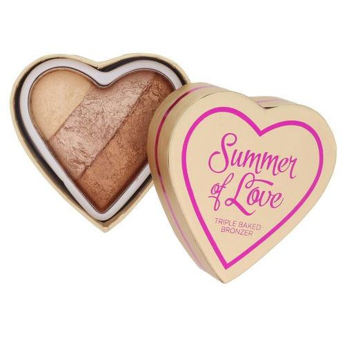 Makeup revolution  i ♥ makeup summer of love puder brązujący odcień hot summer of love 10 g