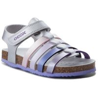 Sandały - j n.s.aloha g. c j821cc 000nf c1316 s silver/lilac marki Geox