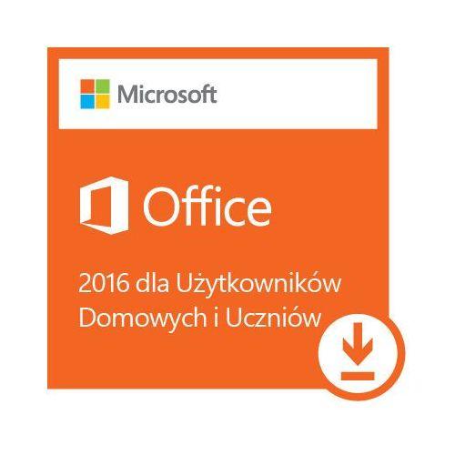 Kod aktywacyjny MICROSOFT Office 2016 dla Użytkowników Domowych i Uczniów