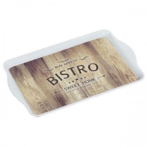 Taca do serwowania, melamina, motyw: bistro - 4000270774256- natychmiastowa wysyłka, ponad 4000 punktów odbioru! marki Kesper