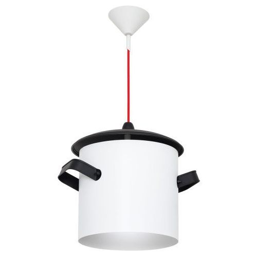 Lampa wisząca Aldex Poti 1x40W E14 biała 788G/D, 788G/D